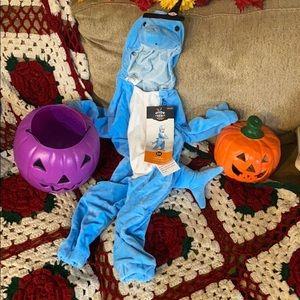 NWT Baby Shark Halloween jumpsuit costume